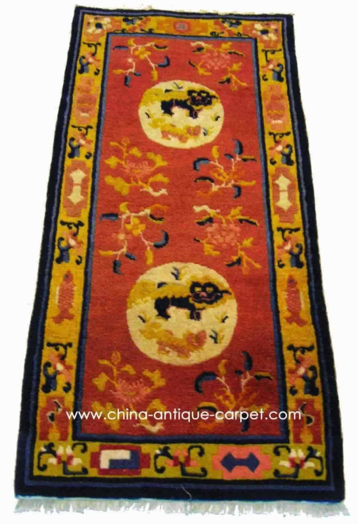 ninghxia antique rug
