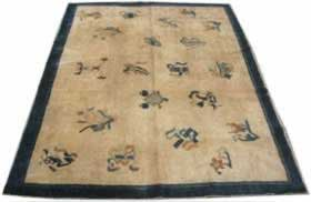 beijing antique rug